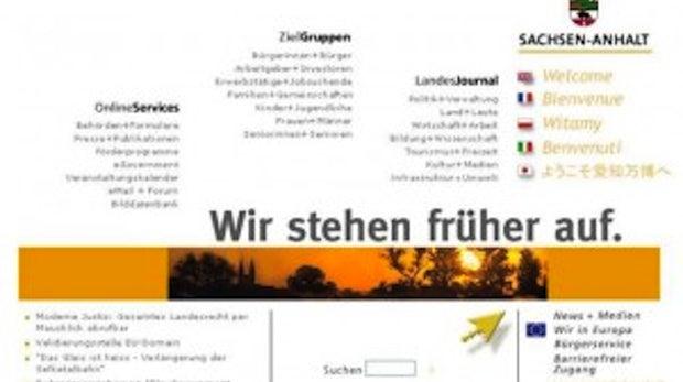 Umstellung eines Landesauftritts auf TYPO3: Das Landesportal www.sachsen-anhalt.de