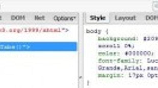 Web-Layouts analysieren und variieren mithilfe des Firefox-Plugins: CSS bearbeiten mit Firebug