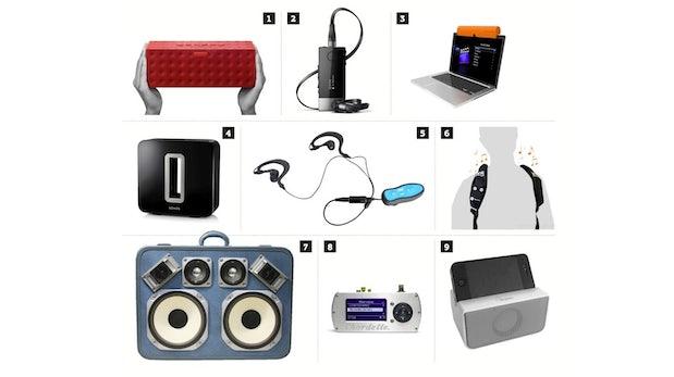 Jambox, Sonos Sub, Johnny Five: Coole Gadgets für Audio-Fans
