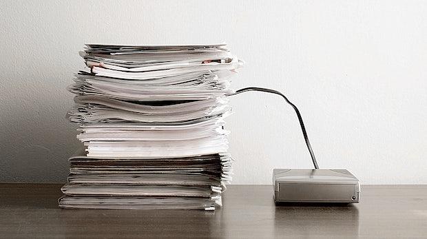 PDF statt Papier: So klappt es mit dem papierlosen Büro