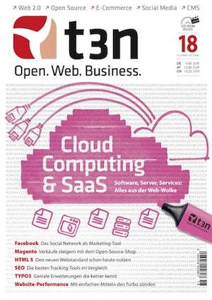 t3n Nr. 18: Cloud Computing & SaaS