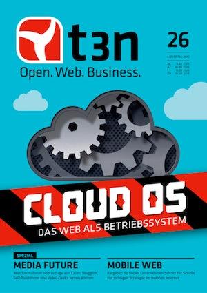 t3n Nr. 26: Das Web als Betriebssystem