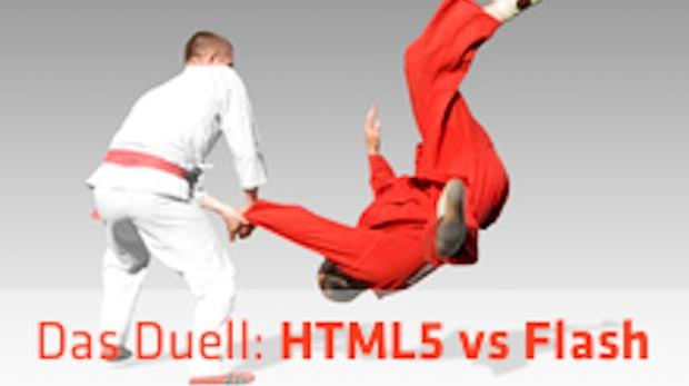 Webentwicklung: HTML5 vs Flash - Wer gewinnt das Duell?