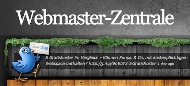 """Blog der Woche """"Webmaster-Zentrale"""": """"Es gab noch keinen Blog, der sich mit allen Webmaster-Themen befasst"""""""