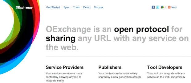 """""""OExchange"""": Offenes Link-Sharing-Protokoll als Konkurrenz für Facebooks Like-Button"""