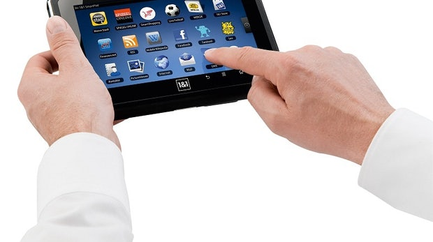 iPad-Alternativen: 1&1 Smartpad - Kleines Tablet auf Android-Basis