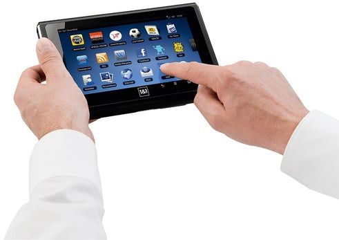 iPad-Alternativen: 1&1 Smartpad - Kleines Tablet auf Android-Basis