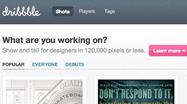 Dribbble: Neues Social Network für kreative Kräfte sorgt für einen Hype unter den Designern