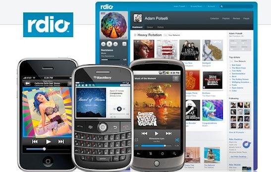 Musik-Streaming: Spotify-Alternative Rdio startet mit breitem Angebot, in den USA
