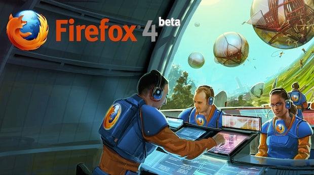 Neue Firefox 4 Beta mit mehr Power