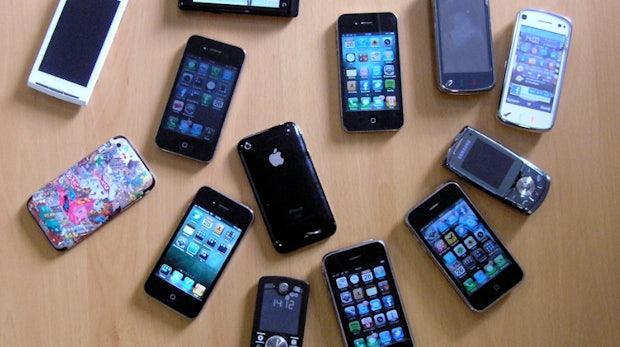 Smartphone-Markt Deutschland: Nokia noch immer die Nr. 1