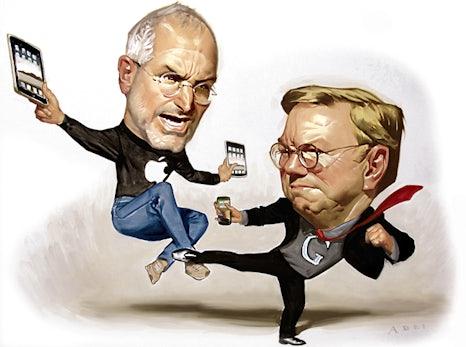 Quartalszahlen: Rekordzahlen beflügeln Apple - Steve Jobs macht der Konkurrenz Druck