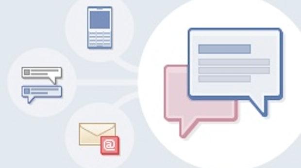 Facebook startet Nachrichtenzentrale mit E-Mail, SMS und Chat