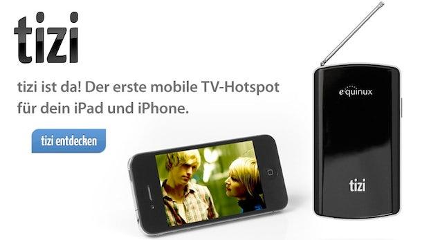 DVB-T für iOS-Geräte