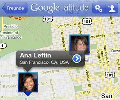 Google Latitude iPhone-App ist da