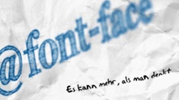 Webdesign-Tipps: @font-face kann mehr, als man denkt