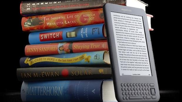Amazon verkauft mehr E-Books als gedruckte Bücher