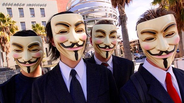 Twitter sperrt kurzzeitig Anonymous-Account