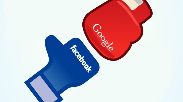 Infografik: Facebook vs. Google+