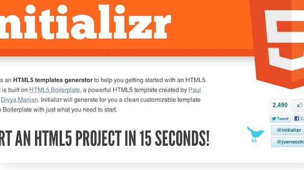 t3n-DevLinks: 10 Desktop-Apps für Codeschnipsel, jQuery HTML5-Musicplayer, Initializer generiert HTML5-Vorlage