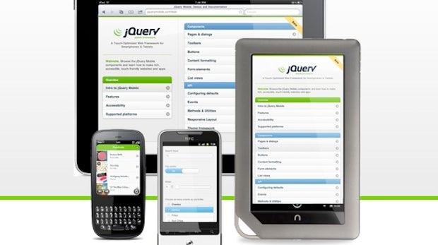 jQuery Mobile Beta ist da - Die Features auf einen Blick