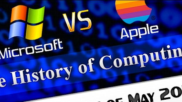 "Microsoft gegen Apple: ""Der 30-jährige Krieg"""