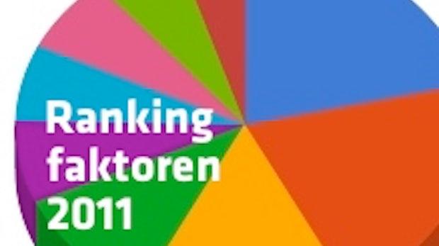 SEO: Google Rankingfaktoren 2011 auf einen Blick