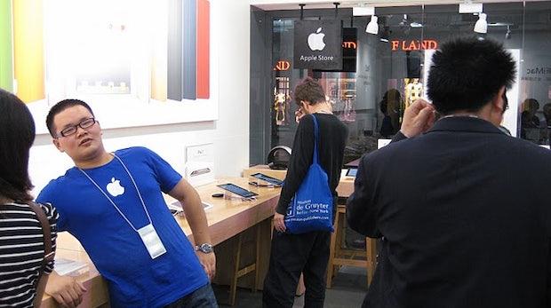 Irre! Komplett gefälschter Apple Store!