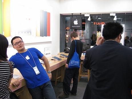 Ärger für den komplett gefälschten Apple Store