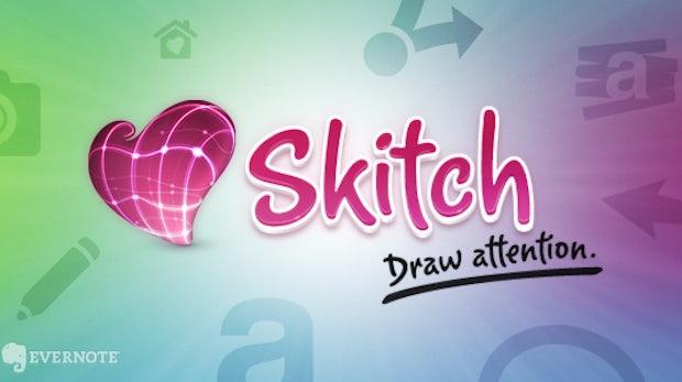 Evernote macht Skitch zur Freeware, jetzt auch für Android-User