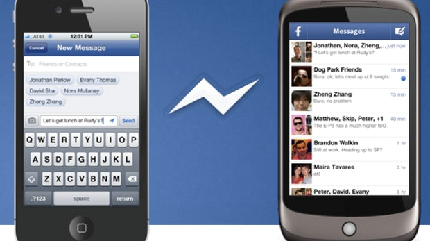 Facebook Messenger: Mobile Chat-Konkurrenz für Google+ Huddle