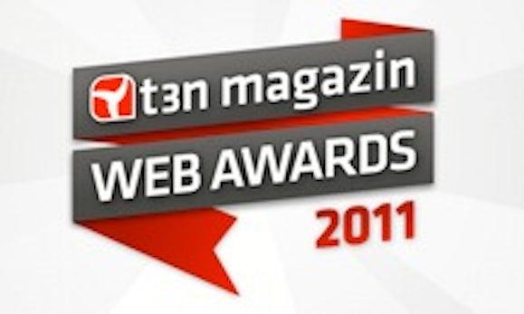 t3n Web Award 2011: Jetzt geht's los!
