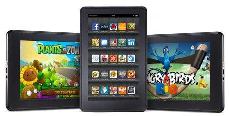 Amazon Kindle Fire: Kein Zugriff auf den Android Market vorgesehen