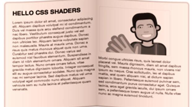 CSS Shaders - 3D-Rendering von HTML-Elementen