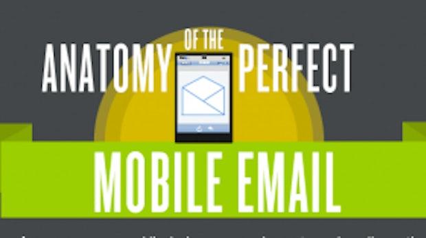 Anatomie einer perfekten E-Mail für Mobilgeräte