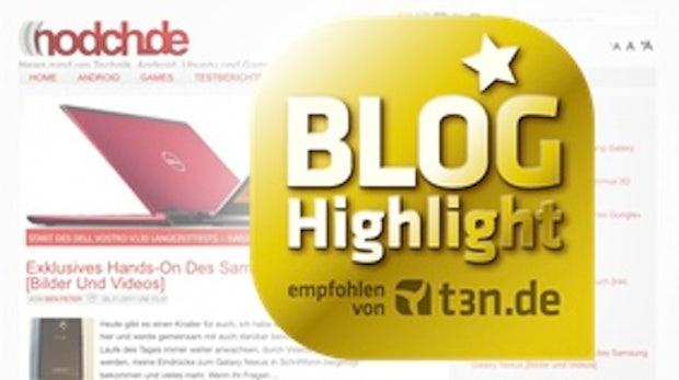 "Blog-Highlight nodch.de: ""Ich bin einfach ein Tech-Junkie"""