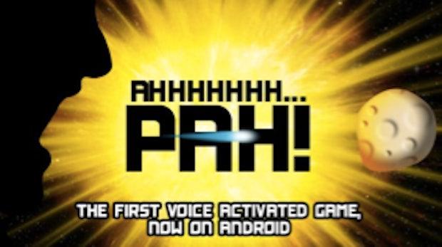 Ahhhhhhh... Pah! Stimmgesteuerter Shooter für Android und iPhone