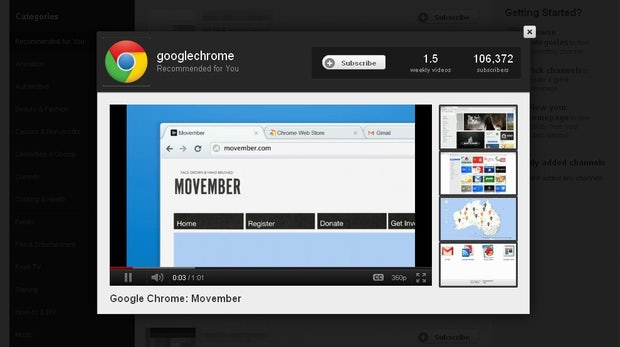 YouTube: Neues Design, neue Features