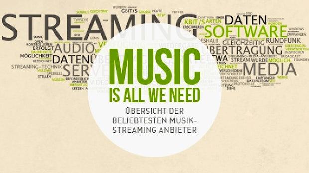 Musik-Streaming-Dienste in Deutschland - Wer bietet was?