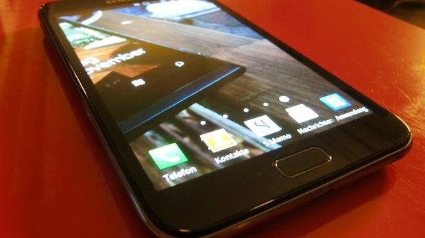 Samsung Galaxy Note im Test - Der sehr große Bruder des Galaxy SII