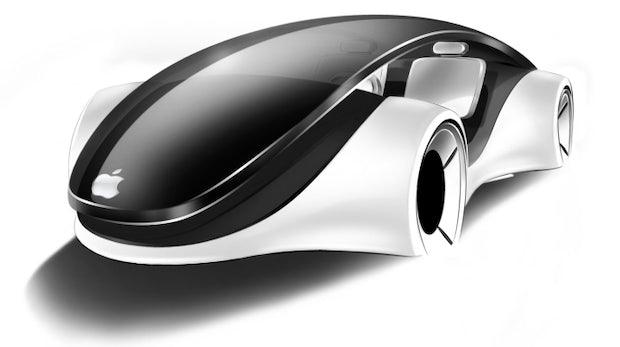 Apple Designstudien: So könnte ein iCar aussehen