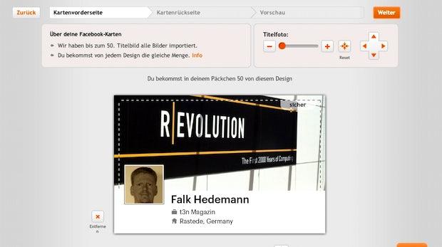 Von Moo gibt es aktuell kostenlose Facebook Visitenkarten im Chronik-Design.