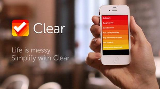 """iPhone Taskmanager """"Clear"""" - schicke Wunderlist-Alternative"""
