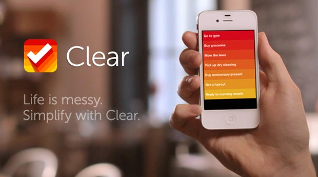 "iPhone Taskmanager ""Clear"" - schicke Wunderlist-Alternative"