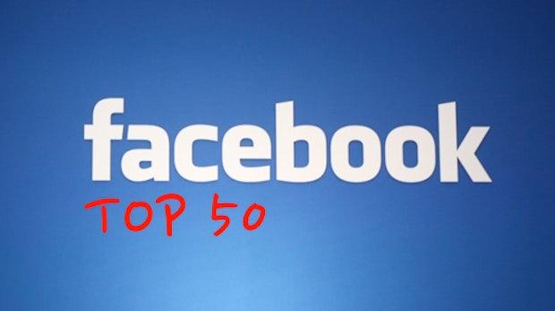 Die Top 50 Printmedien im Facebook-Fan-Ranking