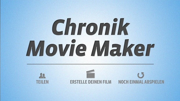 "Facebook Chronik verfilmen: ""Timeline Movie Maker"""