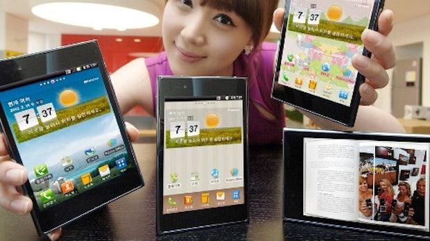 LG Optimus Vu – 5-zollige Konkurrenz für Samsungs Galaxy Note [MWC 2012]