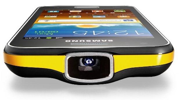 Samsung stellt Smartphone mit Projektor und Galaxy Tab 2 10.1 vor [MWC 2012]