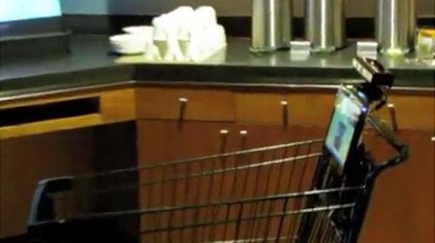 Einkaufen für Geeks: Intelligente Einkaufswagen mit Microsoft Kinect