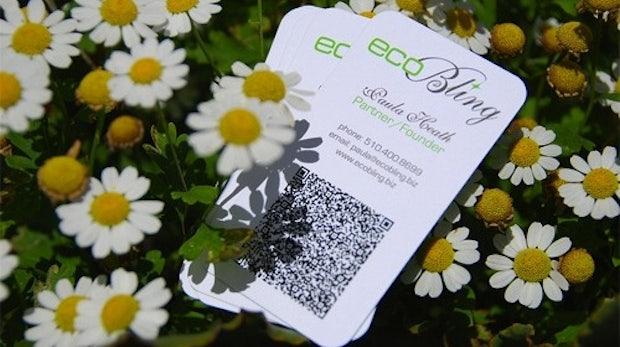 60 Visitenkarten mit QR-Code zur Inspiration
